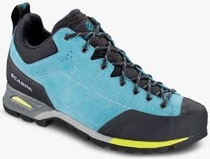 Buty trekkingowe Scarpa z płaską podeszwą w sportowym stylu sznurowane