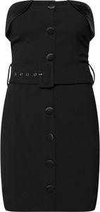 Czarna sukienka 4th & Reckless dopasowana