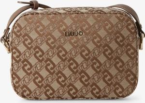 Brązowa torebka Liu-Jo średnia na ramię w młodzieżowym stylu