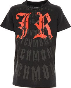Czarna koszulka dziecięca Richmond