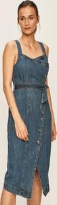 Sukienka Vero Moda prosta z jeansu