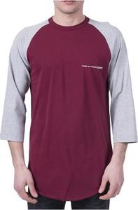 Czerwony t-shirt Comme Des Garçons