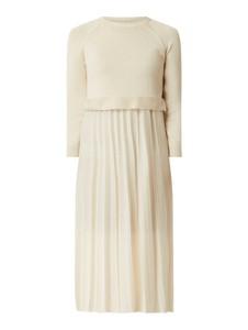 Sukienka MaxMara w stylu casual z bawełny z okrągłym dekoltem