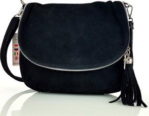 17a3fb478b3f8 torebki zamszowe czarne - stylowo i modnie z Allani