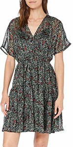 Sukienka amazon.de z krótkim rękawem rozkloszowana mini