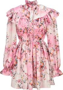 Sukienka MSGM z długim rękawem mini