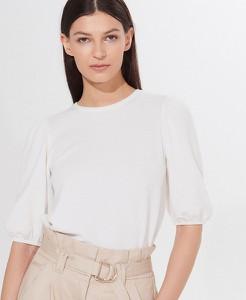 Bluzka Mohito w stylu casual z okrągłym dekoltem