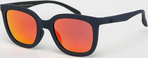 Pomarańczowe okulary damskie Adidas Originals