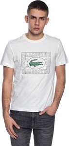 T-shirt Lacoste z nadrukiem