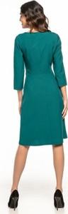Sukienka Tessita z długim rękawem z tkaniny
