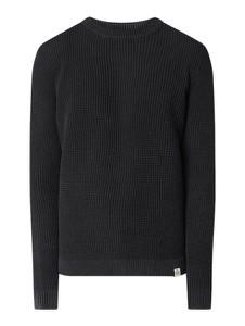 Czarny sweter McNeal z bawełny