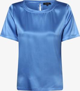 Niebieska bluzka SvB Exquisit z okrągłym dekoltem