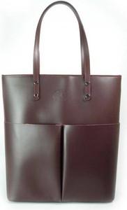 Brązowa torebka Kemer w wakacyjnym stylu duża