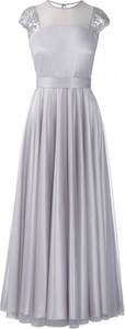 Sukienka POTIS & VERSO w stylu glamour z satyny maxi