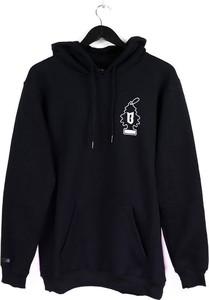 Czarna bluza BOR z bawełny w młodzieżowym stylu