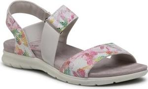 Sandały Go Soft w stylu casual z nadrukiem