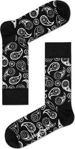 Czarne skarpetki Happy Socks w stylu casual