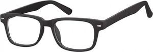 Stylion Okulary Zerówki klasyczne oprawki Sunoptic CP156 czarne