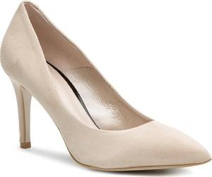 0462a692 Beżowe buty damskie Eva Minge, kolekcja lato 2019