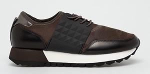 Brązowe buty sportowe S.Oliver sznurowane