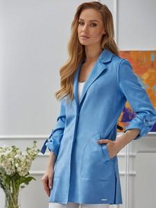 Niebieski płaszcz Rino & Pelle