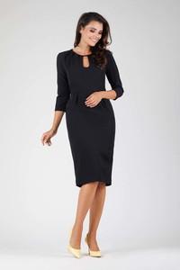 Czarna sukienka Nommo midi