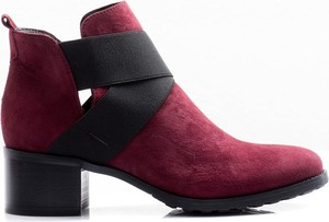 20200c1d54ec6 buty damskie botki zamszowe. - stylowo i modnie z Allani