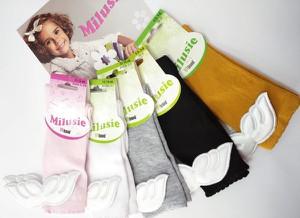 Skarpetki Milusie dla dziewczynek