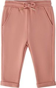 Różowe spodnie dziecięce Petit By Sofie Schnoor