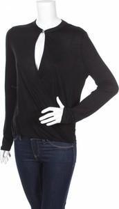Czarna bluzka Anna Forti w stylu casual