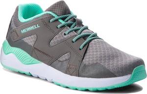 Czarne buty sportowe Merrell sznurowane