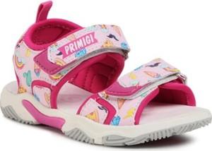 Różowe buty dziecięce letnie Primigi dla dziewczynek