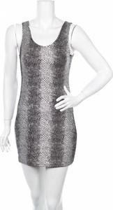 Sukienka Cosmoda z okrągłym dekoltem mini bez rękawów