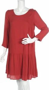 Czerwona sukienka Ddp w stylu casual mini