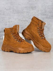 Sneakersy Merg na platformie