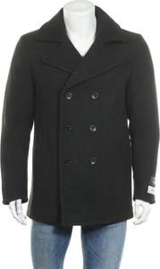 Czarny płaszcz męski Scotch & Soda