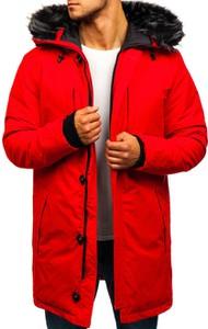 Czerwona kurtka Denley
