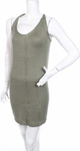 Zielona sukienka Gas mini na ramiączkach