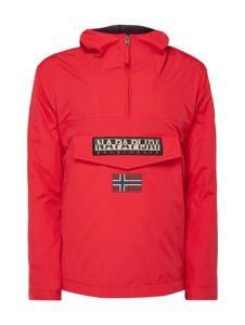 Różowa kurtka Napapijri w sportowym stylu