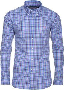 Koszula Ralph Lauren z kołnierzykiem button down w stylu casual z bawełny