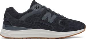 Czarne buty sportowe New Balance z nubuku