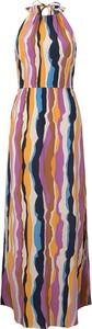 Sukienka Tom Tailor Denim z dekoltem w kształcie litery v maxi
