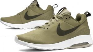 Zielone buty sportowe Nike sznurowane z płaską podeszwą