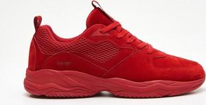 8fbf2d03 Czerwone buty sportowe Cropp w młodzieżowym stylu sznurowane