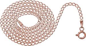 Lian Art ŁAŃCUSZEK SREBRNY SPLOT PANCERKA ( GD60 ) - ROSE GOLD