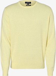 Żółty sweter Andrew James w stylu casual