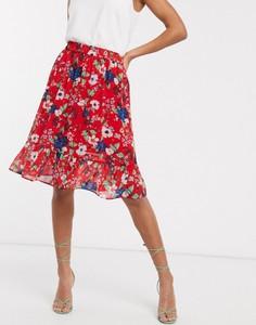 Czerwona spódnica Vero Moda
