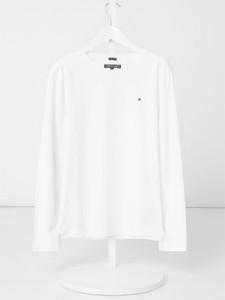Koszulka dziecięca T. Hilfiger Teens z bawełny z długim rękawem