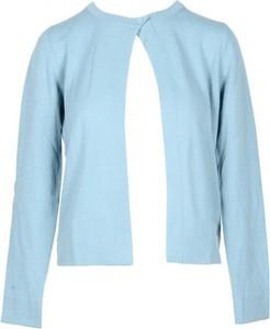 Niebieski sweter Lamberto Losani z wełny w stylu casual