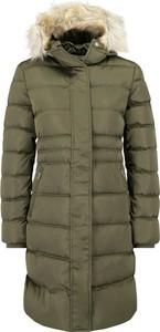 Zielona kurtka Calvin Klein długa